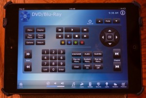 All a/v components controlled from i-Pad (Blue Ray, Receiver, etc.)
