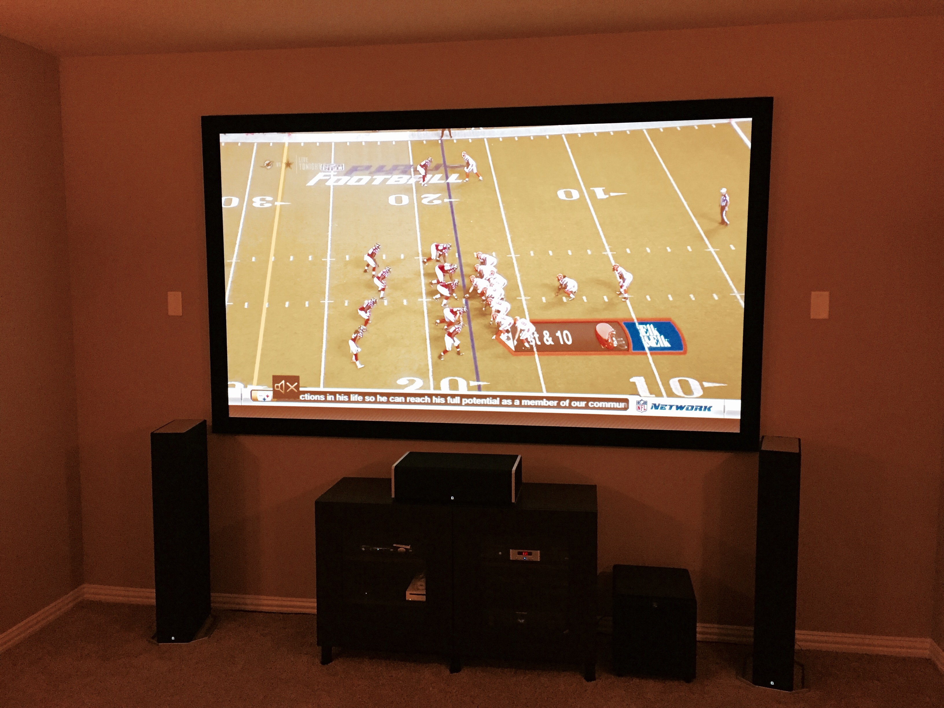 Home Entertainment Ideas To Watch the Big Game - Center Stage A/V