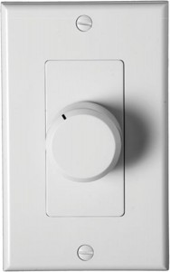 Knob Volume Control for Whole House Sound
