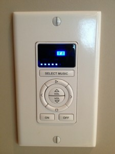 Electronic volume control for whole house sound